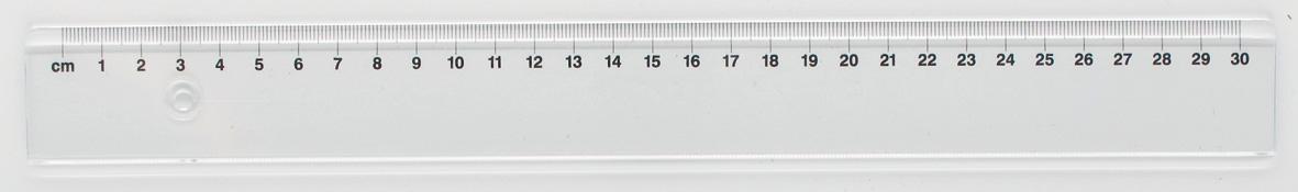 Linjal Office Depot plast 30cm
