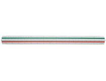 Skalstock 30cm skala 1-125