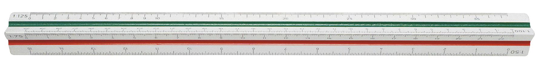 Skalstock 30cm skala 100-500