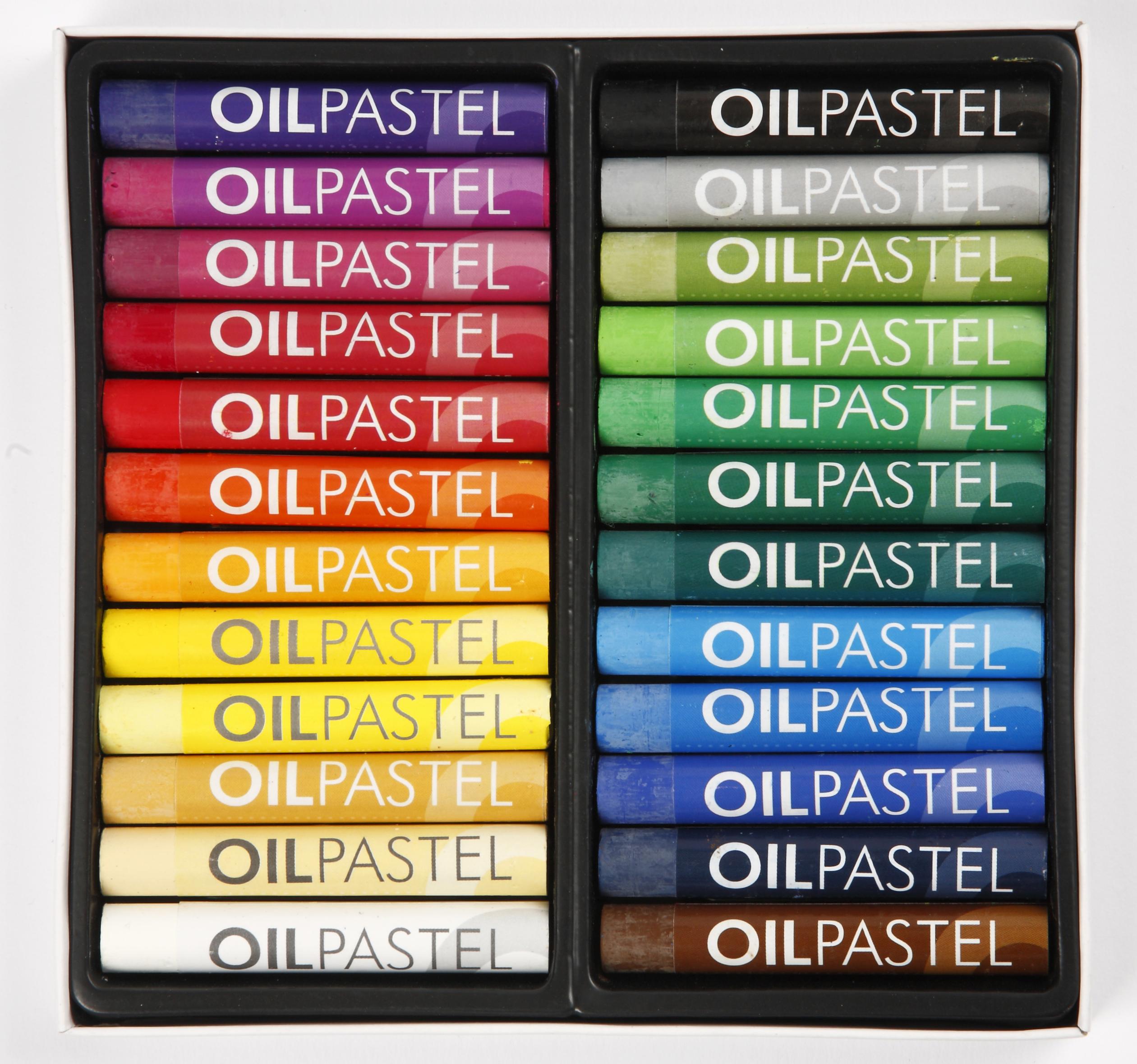 Oljepastell Gallery 24 färger